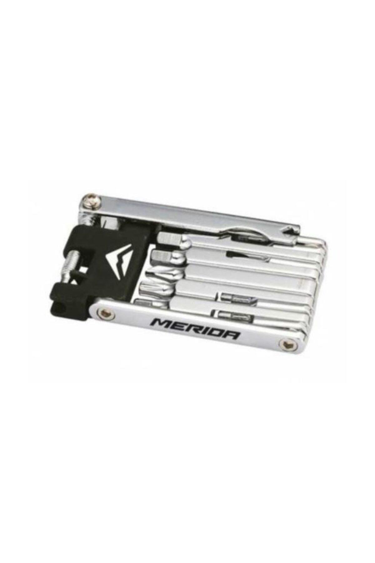 Merida Multi Tool Zincir Kesmeli 12 Çeşit Alyan Çakı Seti
