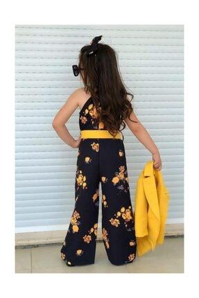 Riccotarz Çocuk Sarı Ceketli Tulum 2