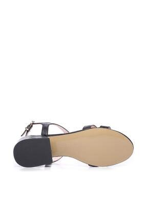 Kemal Tanca Siyah Kadın Ayakkabı 652 1871-1 BN AYK 4