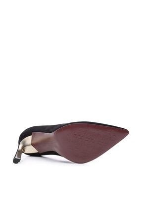 Kemal Tanca Siyah Kadın Vegan Klasik Topuklu Ayakkabı 22 2000 BN AYK 4