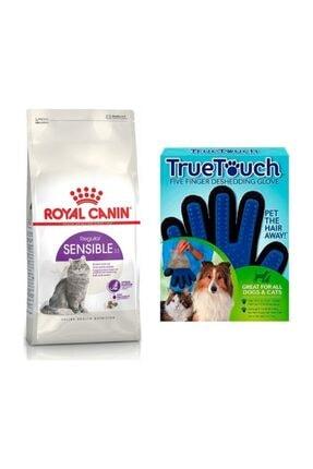 Royal Canin Yetişkin Sensible Kedi Maması 4 kg + Bobo Touch Kedi Tüy Toplama Eldiveni 0