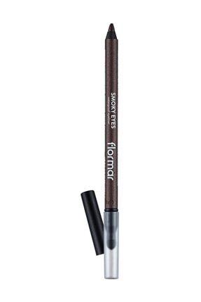 Flormar Somky Eyes Waterproof Eyeliner - Suya Dayanıklı Göz Kalemi No:006 Outstanding 30 ml 8690604547296 0