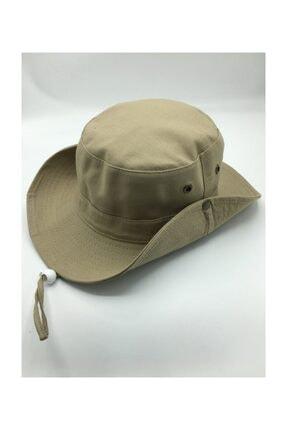 GONCA ŞAPKA Unisex Yazlık Katlanabilir Safari Fötr Şapkası 0