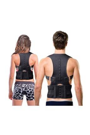 Ecoform Medikal Ortopedik Kanburluk Önleyici Ayarlanabilir Posturex Manyetik Dik Duruş Korsesi 0