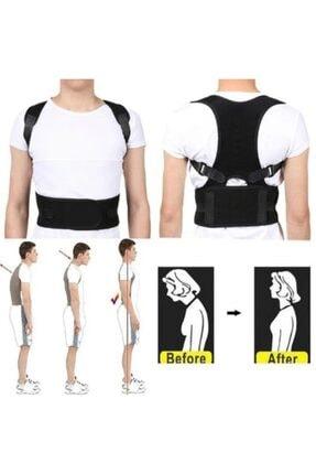 Ecoform Medikal Ortopedik Kanburluk Önleyici Ayarlanabilir Posturex Manyetik Dik Duruş Korsesi 4