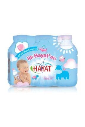 Hayat Bebe Suyu 6'lı Pet Şişe 330 ml 0