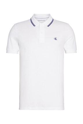 Calvin Klein Erkek Polo Yaka T-shirt J30J314565 3