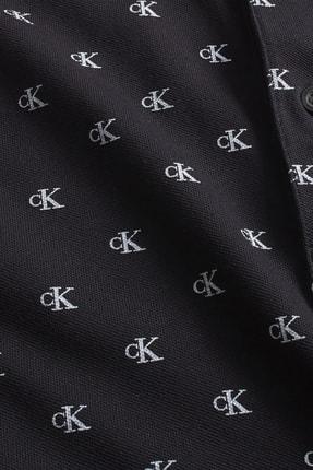 Calvin Klein Erkek Polo Yaka T-shirt J30J315192 3
