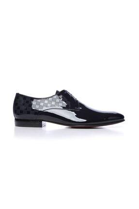 Kemal Tanca Hakiki Deri Lacivert Erkek Klasik Ayakkabı 221 61304K ERK AYK 0