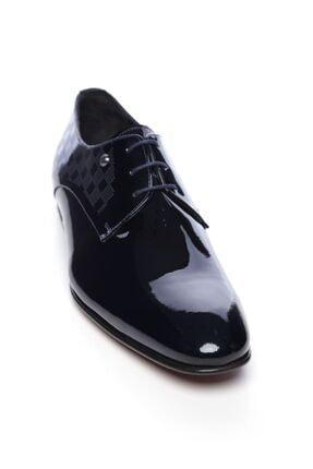 Kemal Tanca Hakiki Deri Lacivert Erkek Klasik Ayakkabı 221 61304K ERK AYK 1