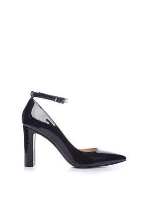 Kemal Tanca Siyah Kadın Vegan Klasik Topuklu Ayakkabı 22 319 BN AYK 0