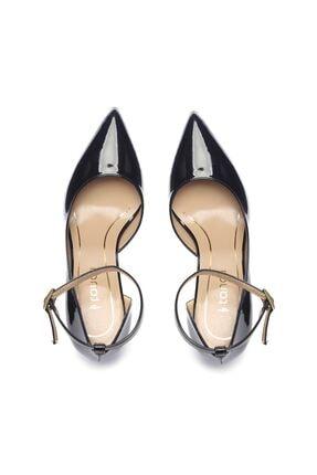 Kemal Tanca Siyah Kadın Vegan Klasik Topuklu Ayakkabı 22 319 BN AYK 2
