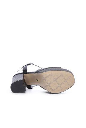 Kemal Tanca Kadın Derı Topuklu Ayakkabı 539 3104 BN AYK 4