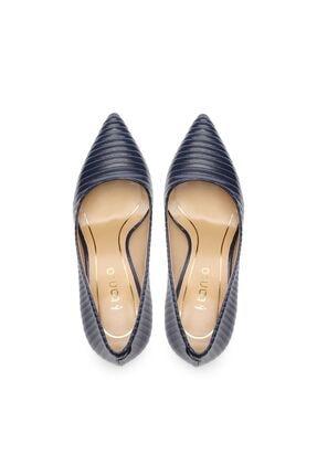 Kemal Tanca Kadın Derı Stiletto Ayakkabı 22 5205 BN AYK 3