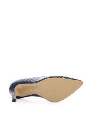 Kemal Tanca Kadın Derı Stiletto Ayakkabı 22 5205 BN AYK 4