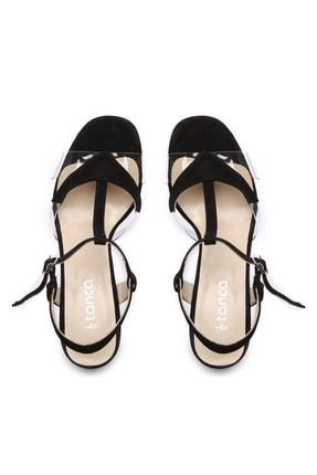 Kemal Tanca Hakiki Deri Siyah Kadın Ayakkabı 94 3134 BN AYK Y19 2