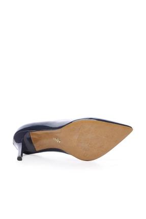 Kemal Tanca Lacivert Kadın Vegan Stiletto Ayakkabı 723 5064 BN AYK Y19 4