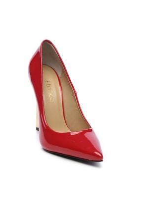 Kemal Tanca Kırmızı Kadın Vegan Stiletto Ayakkabı 22 6213 BN AYK Y19 1