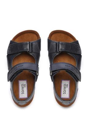 Kemal Tanca Erkek Çocuk Siyah Hakiki Deri Sandalet Ayakkabı 719 300 CCK 22-30 Y19 3
