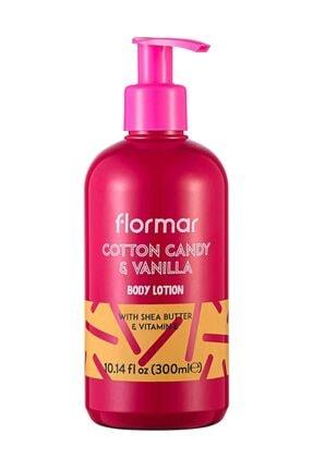 Flormar Vücut Losyonu - Body Lotion 03 Cotton Candy & Vanilla 300 ml  8690604493463 0