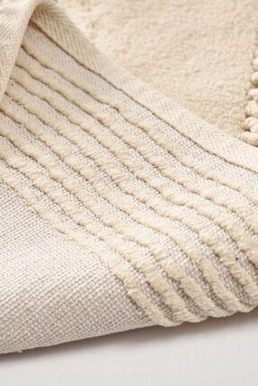 Alanur Home Alanur Salina Oval Cotton Makarnalı 2 Li Paspas Vizon 1