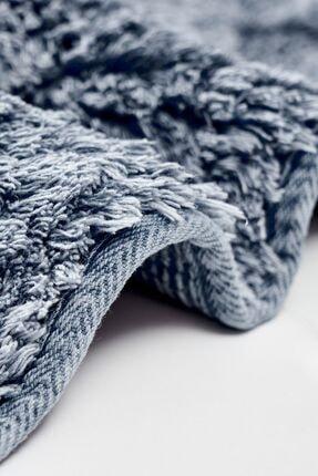 Alanur Home Alanur Labirent Bukle & Cotton 2 Li Paspas Eskitme Mavi 2