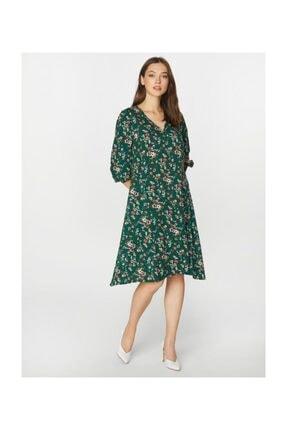 Faik Sönmez Kadın Desenli Elbise 39243 1