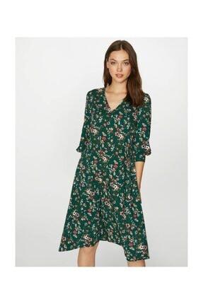 Faik Sönmez Kadın Desenli Elbise 39243 2