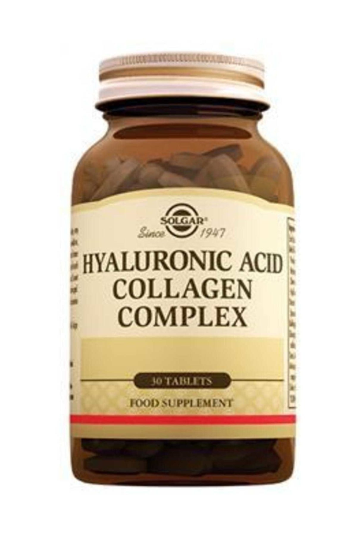 Hyaluronic Acid Collagen Complex 120 mg - 30 tablet