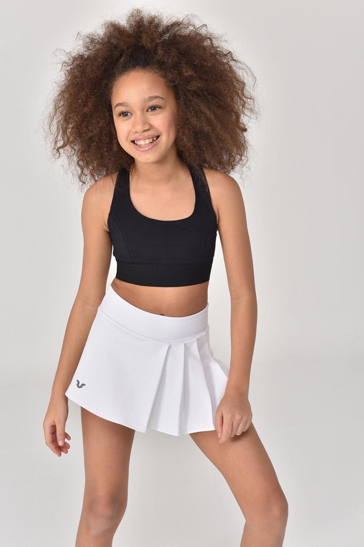 Siyah Kız Çocuk Sporcu Sütyeni GS-8160