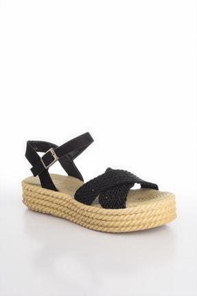 Soho Exclusive Siyah Kadın Sandalet 14952 3