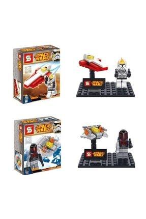 GÇM Sy212 Star Wars Lego Seti 4 Paket Bir Arada 4