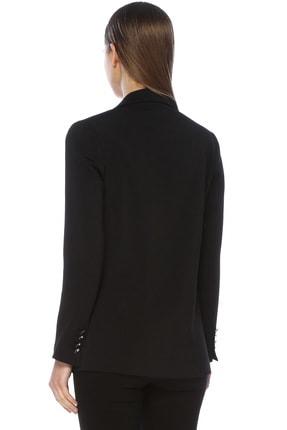 Network Kadın Slim Fit Siyah Ceket 1073403 2