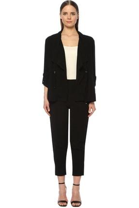 Network Kadın Regular Fit Siyah Ceket 1073836 1