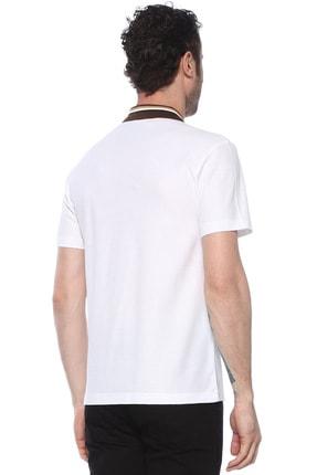Network Erkek Polo Yaka Beyaz Tshirt 1073719 2