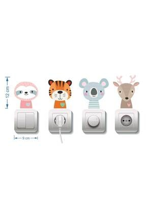 Dekor Loft Çocuk Odası 4 Lü Priz Sticker 1