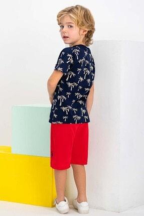 US Polo Assn Erkek Çocuk Lacivert  Lisanslı Bermuda Takım Şort & Bermuda 1
