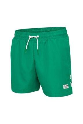 HUMMEL Erkek Yeşil Rence Deniz Şortu 0