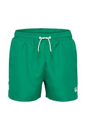 HUMMEL Erkek Yeşil Rence Deniz Şortu 2