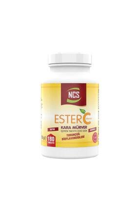 Ncs Ester C Vitamini 1000 mg 180 Tablet Kara Mürver Turunçgil 0