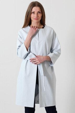 Herry Kadın Mavi-beyaz Kaban 20fk83001 0