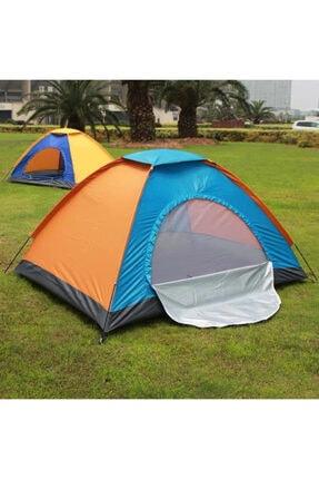 Papakudi 4 - 5 Kişilik 200x200x135 Ölçülerinde Kamp Çadırı Tatil Deprem 0