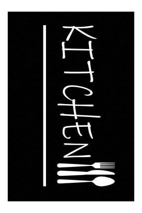 Homefesto Dekoratif Özel Tasarım Modern Yıkanabilir Ince Kaymaz Taban Mutfak Halısı 2