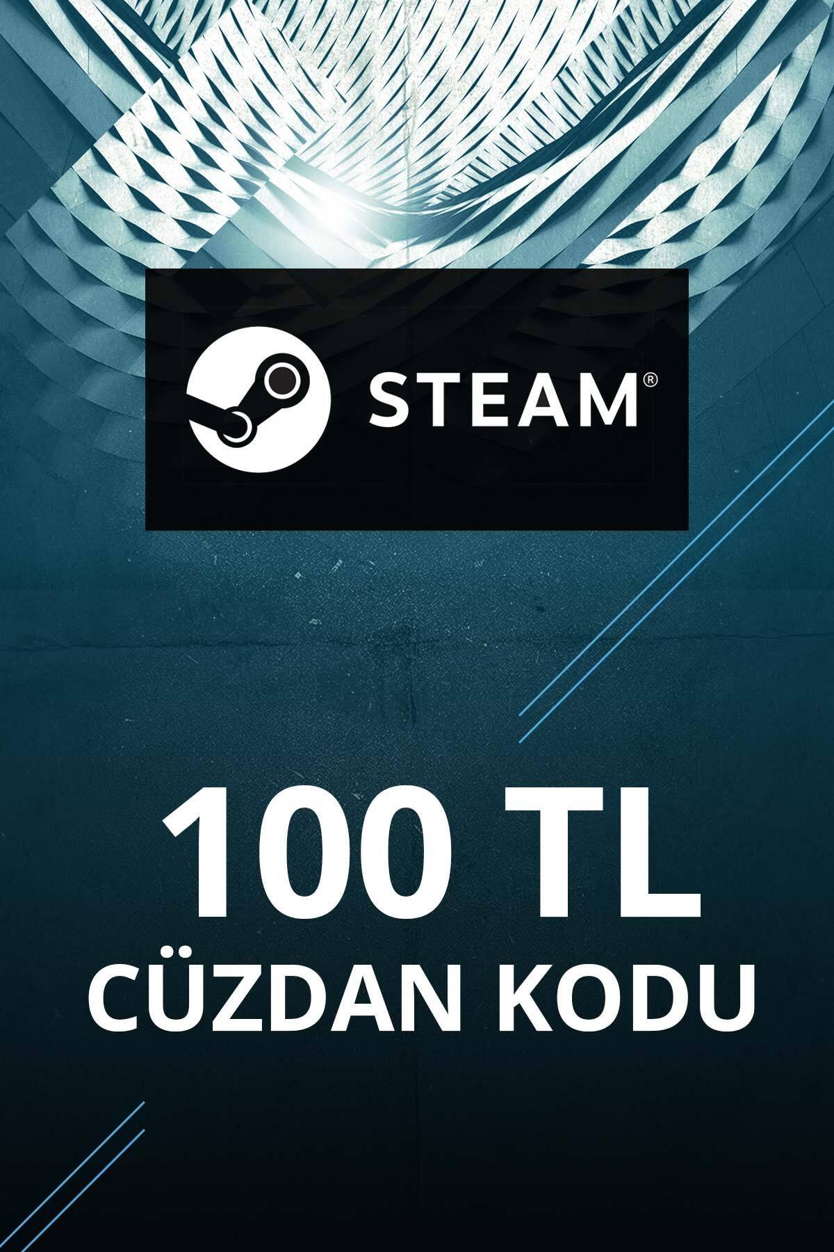 Steam 100 TL Cüzdan Kodu 0