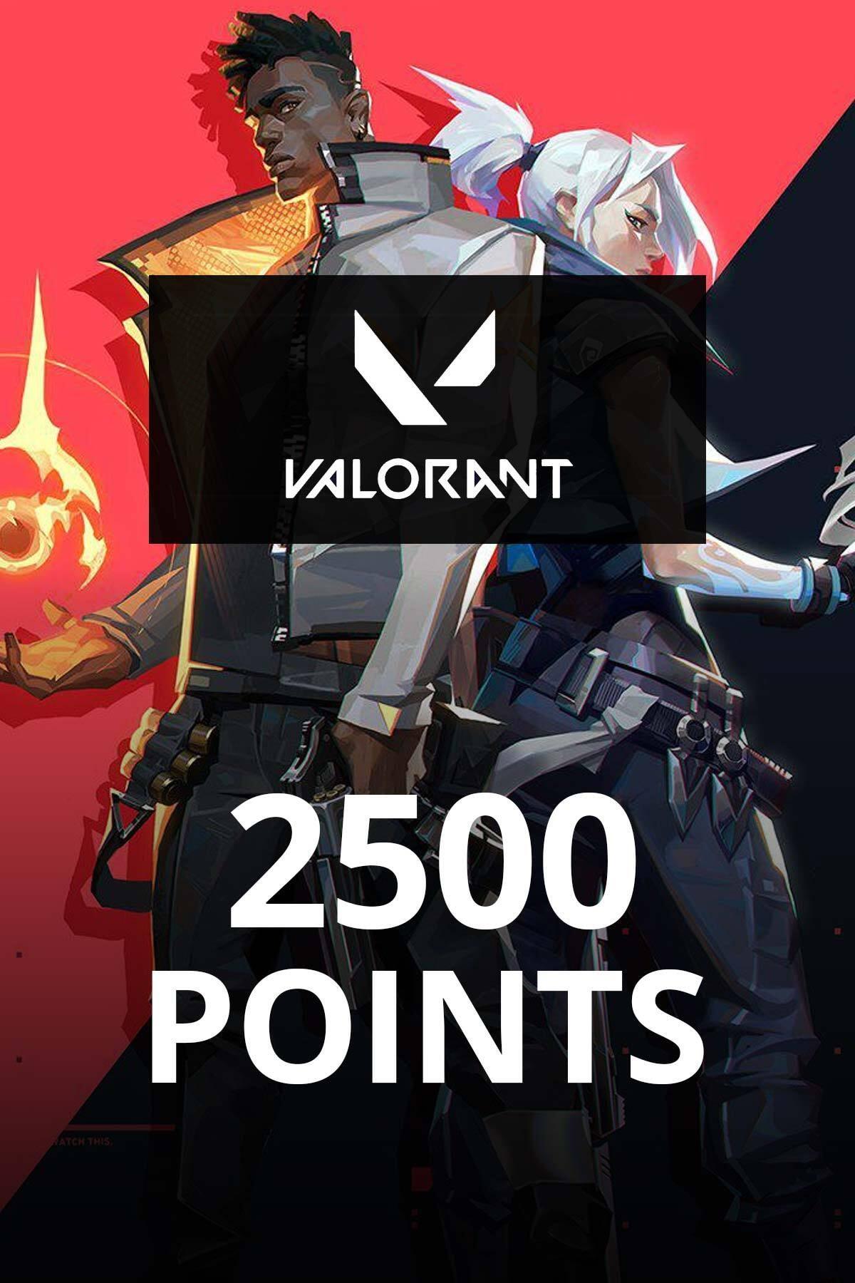 2500 Valorant Points TR
