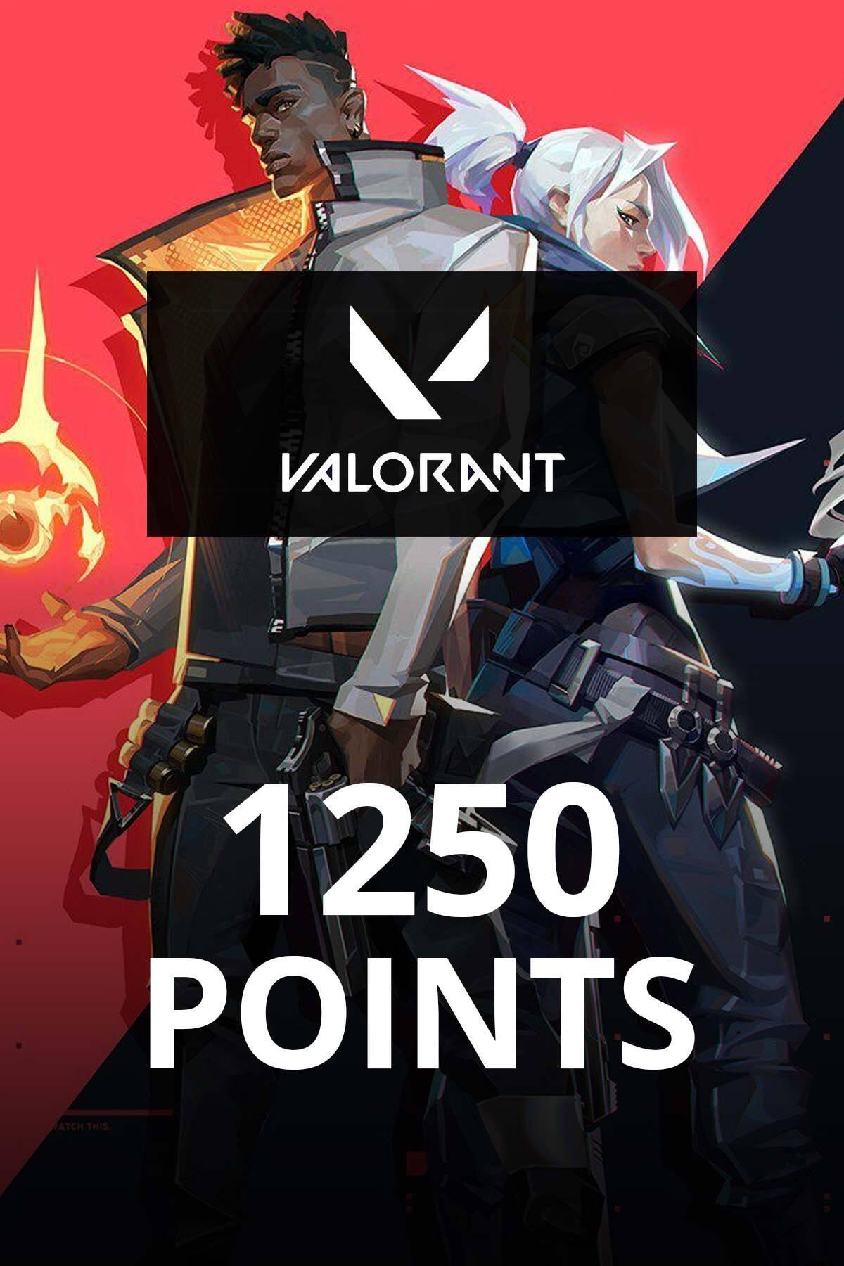 1250 Valorant Points TR