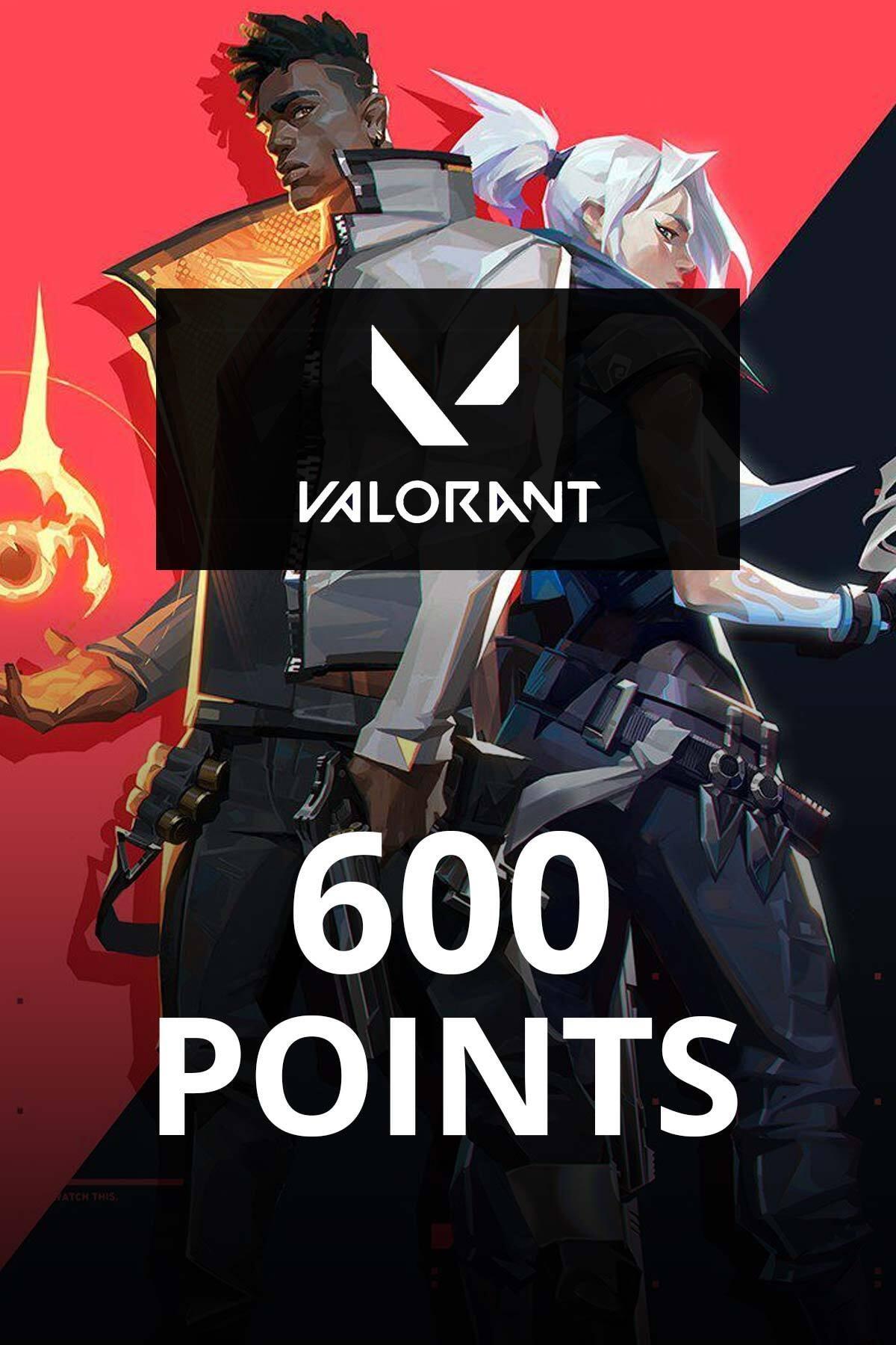 600 Valorant Point