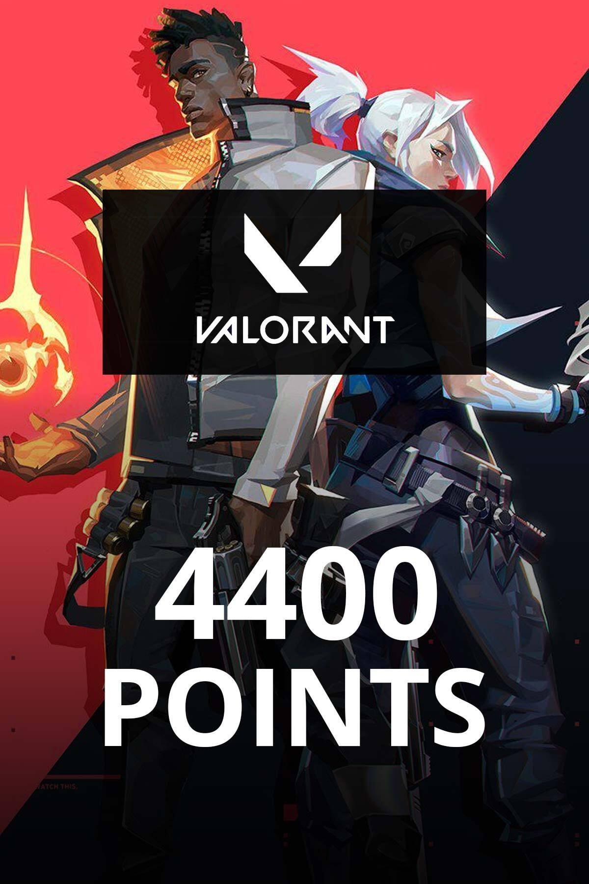 4400 Valorant Points TR