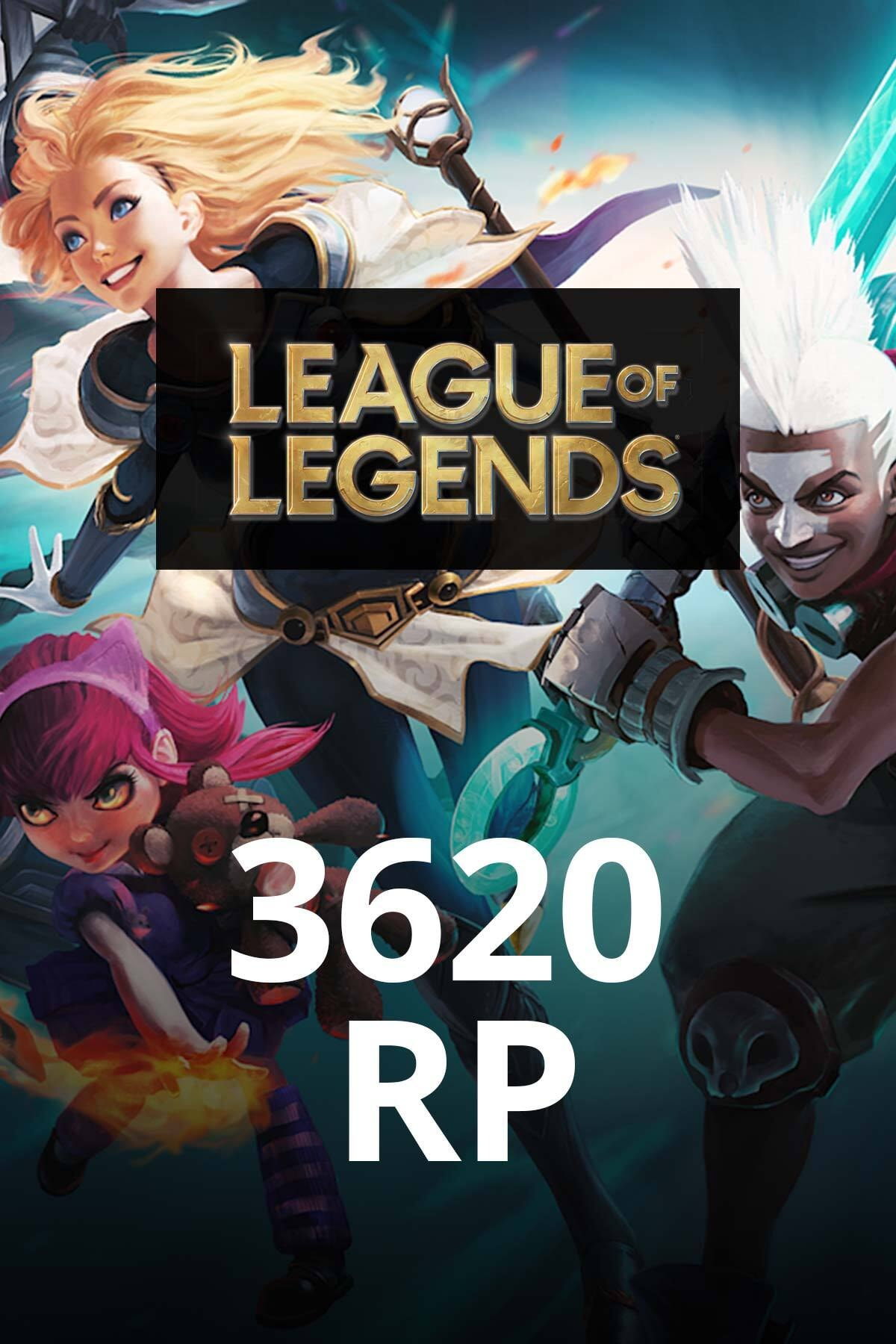 Riot Games League of Legends 3620 RP TR 0