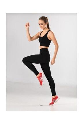 Misfit Kadın Sporcu Tayt Fitness Ve Günlük Kullanım Iç Göstermez 0